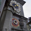 Stock Photo: Clock Tower detail in Bern, Switzerland