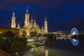 Zaragoza, Pilar Cathedral, Spain — Stock Photo