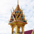 Stock Photo: Thai belfry