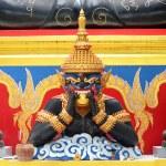 Phra Rahu and Phra Pidta — Stock Photo