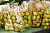 Grön papaya — Stockfoto