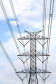 Pylône de haute tension — Photo