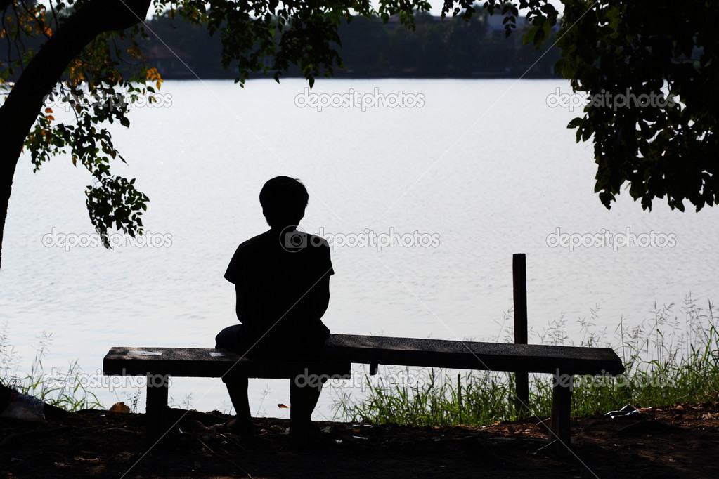 孤独的背影 — 图库照片08smuayc#31581979