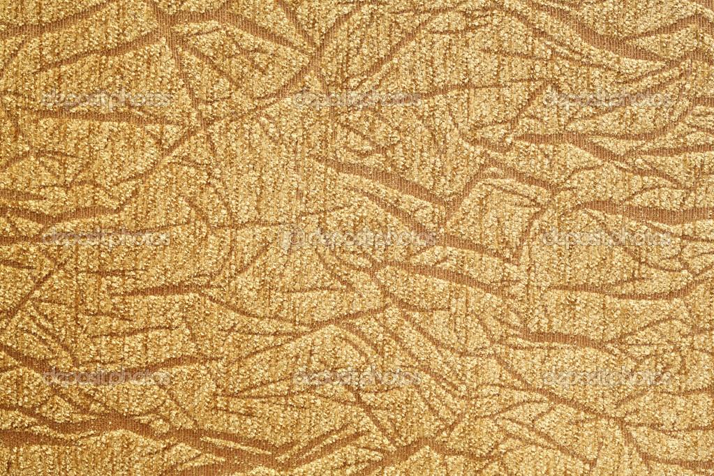Close up Golden Color Cloth