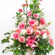 Stock Photo: Bouquet of carnation lily and Gerbera