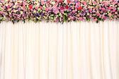 Wedding backdrop — Stock Photo