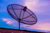 Television Satellite dish — Stock Photo