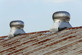 Roof ventilation — Stock Photo