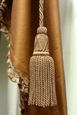 Curtain tassel — Stock Photo