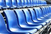Temporary grand seat — Stock Photo