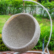 Rattan chair — Stock Photo