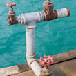 Stock Photo: Water valves