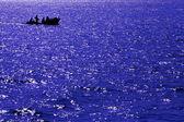 Abstract blue sea — Stock Photo