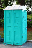 Portable toilet — Foto Stock
