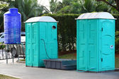 Portable toilet — Foto de Stock