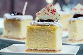 ミニ チーズ ケーキ — ストック写真