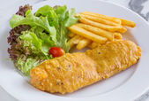 Fish and chip — Stockfoto