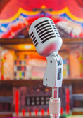Classic microphone — Stock Photo