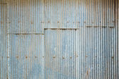 Grunge Corrugated Zinc Sheet — Foto Stock