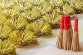 Thai incense preparation — Stock Photo