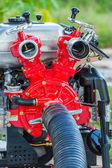 Pumpe für die brandbekämpfung — Stockfoto