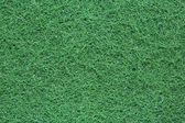 Grüne farbe waschen pad — Stockfoto