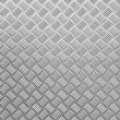 Grunge diamond metal plate texture — Stock Photo