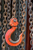 Chain and hook — Stock Photo