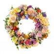 Elegance flower Garland - Artificial — Stock Photo