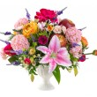 Flower bouquet in ceramic vase — Stock Photo #31773641