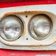 Old car lamps — Stock Photo
