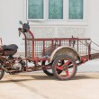 Stock Photo: Thai style three wheeled motorbike cart