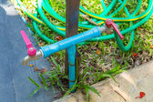 Outdoor ball valves — Stock Photo