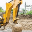 Backhoe bucket — Stock Photo