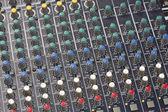 Sound Mixer Console — Stock Photo