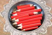 Carpenter pencil — Stock Photo