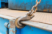 Hook and chain — Stock Photo