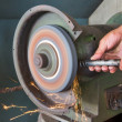 Grinding Wheel — Stock Photo