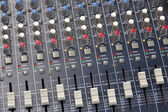 Sound Mixer Console — Stock Photo