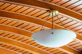 Elegant ceiling lamp — Stock Photo