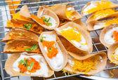 Thai crispy crepe — Stock Photo