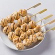 Grilled meat balls — Stock Photo