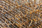 Rusty rebar — Stock Photo