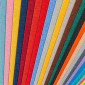 Colorful paper arrangement — Zdjęcie stockowe