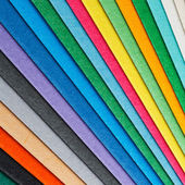 Colorful paper arrangement — Stockfoto
