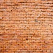 Red brick wall background — Foto de Stock