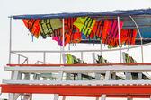 Záchranná vesta na lodi — Stock fotografie