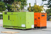 Electric generator — Stock Photo