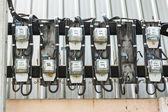 Elektrický měřič — Stock fotografie