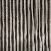 Close up outside of dirty air filter — Stock Photo